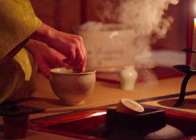濃茶(正式な抹茶)